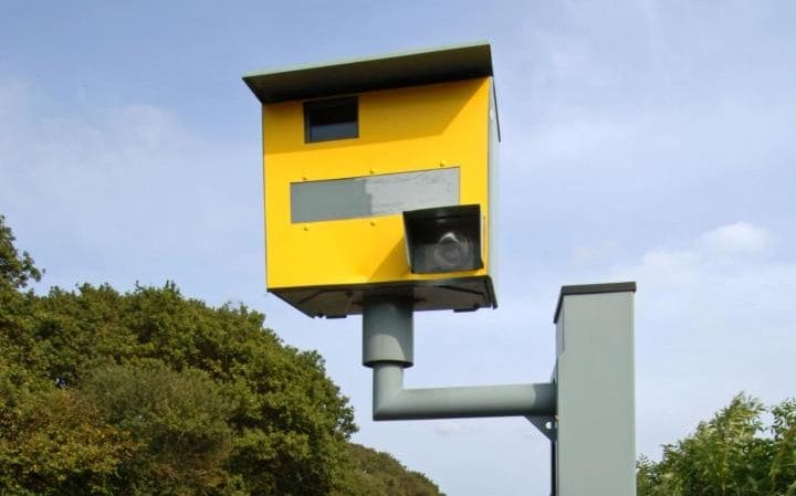 Speed camera fines increased